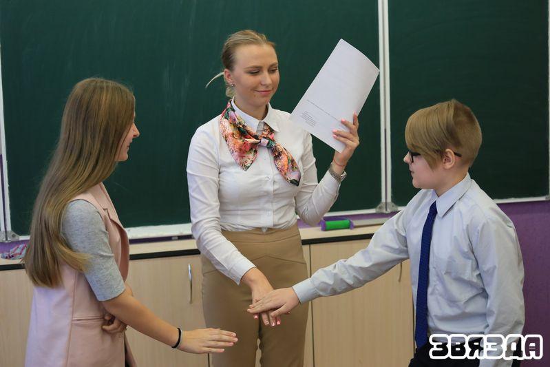 """Падчас класнай гадзіны ў любімым 8 """"Б"""" класе."""