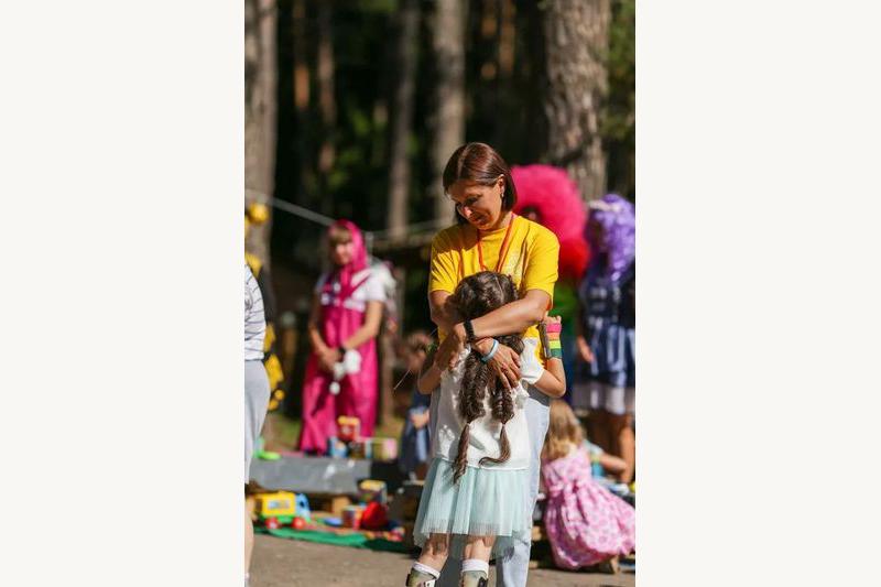 Рита Шалей с дочкой Соней