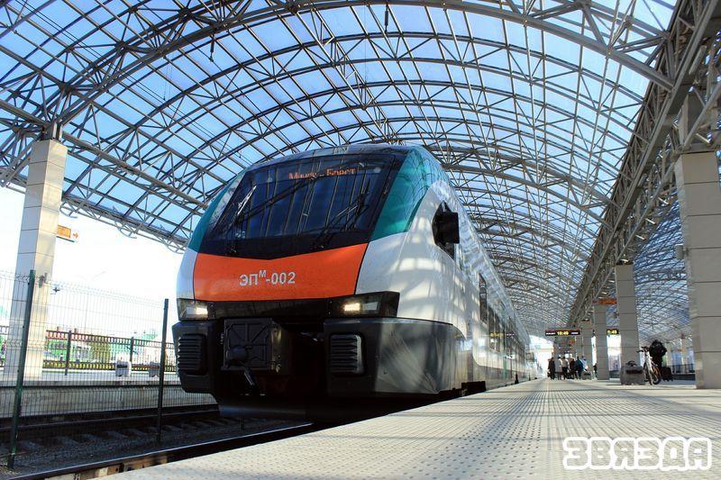 Железнодорожный вокзал в Бресте. Фото автора