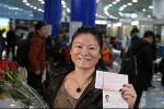 Безвизовую туристку из Китая встретили в Национальном аэропорту Минск