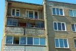 Балкон жылога дома абрынуўся ў Лідзе