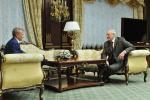 Лукашэнка і Грэф абмеркавалі стасункі Беларусі з Групай Ашчадбанк