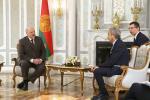 Аляксандр Лукашэнка сустрэўся з дакладчыкам па Беларусі ад ПАСЕ