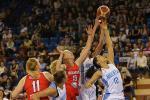 Жаночая зборная Беларусі па баскетболе ўступіла Аргенціне