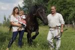 На любімую справу Уладзіміра Юрасіка натхнілі коні