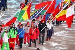 Алімпійскі сцяг перададзены Пекіну падчас цырымоніі закрыцця Гульняў