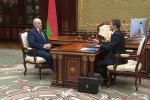 Лукашэнка правёў сустрэчу з кіраўніком Аператыўна-аналітычнага цэнтра