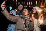 Як сустрэлі Новы год у Гомелі