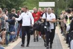 Нацыянальная футбольная зборная правяла адкрытую трэніроўку