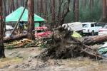 У Краснаярскім краі ўраган разбурыў намётавы гарадок
