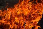 Трохгадовае дзіця загінула на пажары ў Рагачоўскім раёне