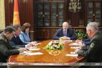 Лукашэнка сабраў тэрміновую нараду з членамі Савета бяспекі