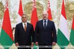 Аляксандр Лукашэнка Віктару Орбану: Калі мы аб чымсьці дамовімся, Беларусь свята будзе гэта выконваць
