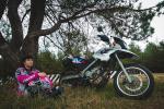 Екатерина Дубаневич планирует преодолеть путь в 100 тысяч км на мотоцикле