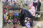 Штучным кветкам не месца на могілках