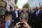 Мясникович и Матвиенко посетили выставку-ярмарку ремесел «Город мастеров»