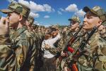 Навабранцы ў беларускай арміі прынялі прысягу