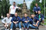 Беларускія студэнты дапамагалі ўзводзіць у Пецярбургу школу танцаў