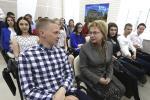 Мар'яна Шчоткіна сустрэлася з будучымі педагогамі