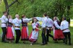 Унікальны танец, які захавалі ў Мастоўскім раёне, згуртаваў некалькі пакаленняў вяскоўцаў