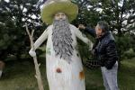 Скульптар Сяргей Жыльскі — пра грыбы-гіганты і бетонныя сады