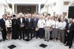Михаил Мясникович посетил открытие выставки Владимира Прокопцова
