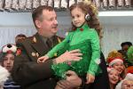 Андрэй Раўкоў павiншаваў выхаванцаў дзiцячага дома з Новым годам