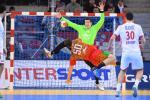 Беларуская зборная па гандболе прайграла матч зборнай Харватыі