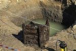 Драўляны калодзеж з каменнага стагоддзя знайшлі ў Чэхіі