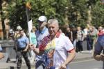 Сустрэць «Полымя міру» гэтымі днямі можна на вуліцах Мінска