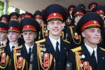 Як прайшоў выпускны ў Мінскім сувораўскім ваенным вучылішчы