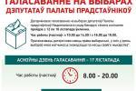 Галасаванне на выбарах дэпутатаў Палаты прадстаўнікоў