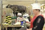 У Дрыбінскім раёне з авечай воўны вырабляюць валёнкі і рукавіцы
