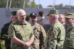 Аляксандр Лукашэнка наведаў пагранічную заставу «Дзівін»