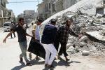 Пры авіяўдары ў раёне Алепа загінулі мірныя жыхары