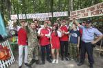 Абласны турысцка-спартыўны злёт для падлеткаў прайшоў у Лоеўскім раёне
