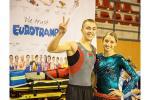 Чэмпіён Еўропы Уладзіслаў Ганчароў раскрывае сакрэты батутнага спорту