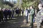 Народныя абраннікі прынялі ўдзел у акцыі «Тыдзень лесу»