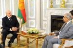 Лукашэнка: тавараабарот Беларусі і Пакістана можа дасягнуць $1 млрд