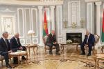 Кіраўнік дзяржавы сустрэўся са спікерам азербайджанскага парламента