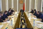 Состоялось заседание научно-консультативного совета при Президиуме Совета Республики