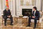 Лукашенко встретился со спикером парламента Грузии