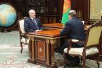 Аляксандр Лукашэнка прыняў з дакладам Віктара Шэймана