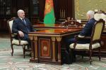 Аляксандр Лукашэнка сустрэўся з  Рыгорам Рапотам