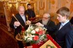 Лукашэнка ў свята Вялікадня сустрэўся з мітрапалітам Філарэтам