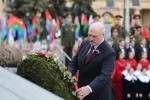 Лукашэнка: Ратны подзвіг даў магчымасць дыхаць свабодай і гадаваць дзяцей