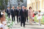 Президент открыл в столице новую школу