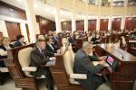 Зноў выбраны парламент пачне работу шостага снежня