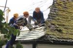 На территории Дома-музея Адама Мицкевича началась замена старых крыш