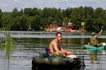 У Быхаўскім раёне пануе творчая атмасфера «Вялікай бард-рыбалкі»